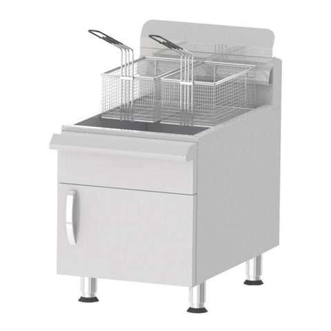 Nella 30 lb. Commercial Countertop Gas Fryer - CF30 - 43088