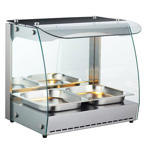 Nella Self-Serve Heated Open Display Warmer - 43120