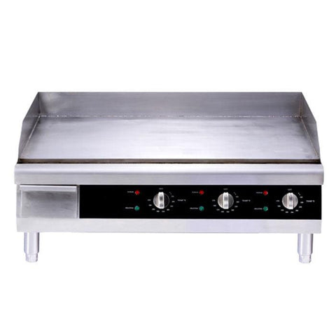 "Nella 30"" Stainless Steel Countertop Electric Griddle - 43214"