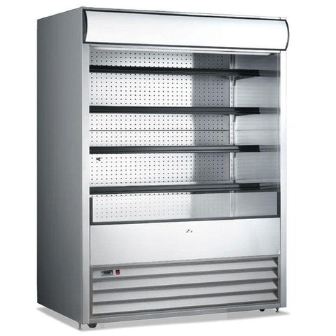 "Nella 72"" Open Refrigerated Floor Display Case - 43460"