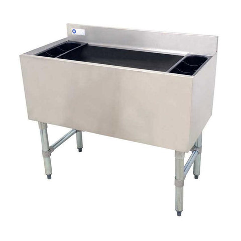 "Nella 36"" Stainless Steel Ice Bin - 43476"