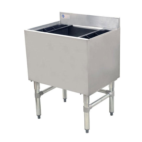 "Nella 24"" Stainless Steel Insulated Ice Bin - 43477"