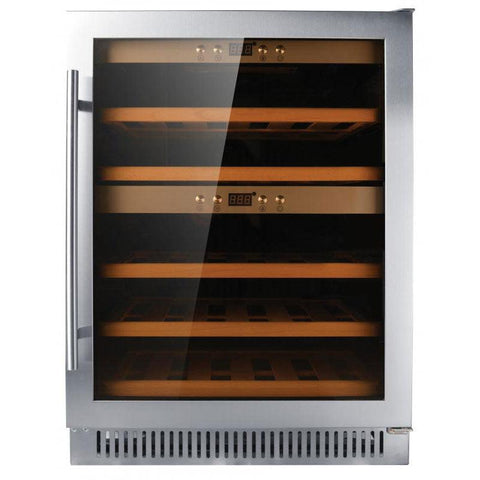 Nella 40 Bottle Dual Zone Wine Cooler - 45260