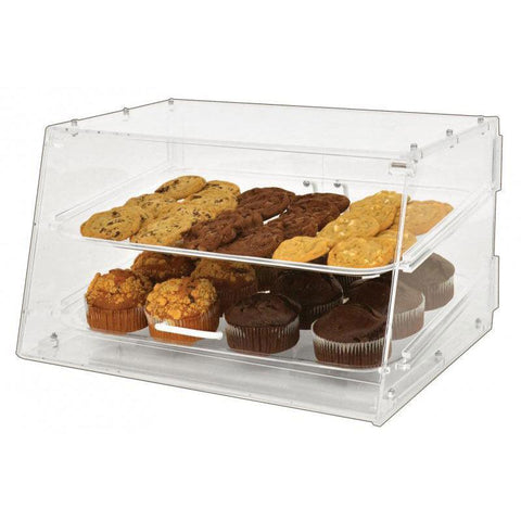 Nella Acrylic Countertop Bakery Display Case with 2 Trays - 80567