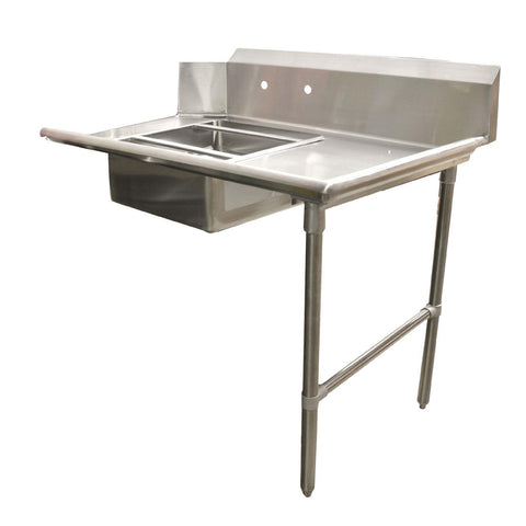 "Nella 60"" Right Side Soiled Dish Table with Sink - 28487"