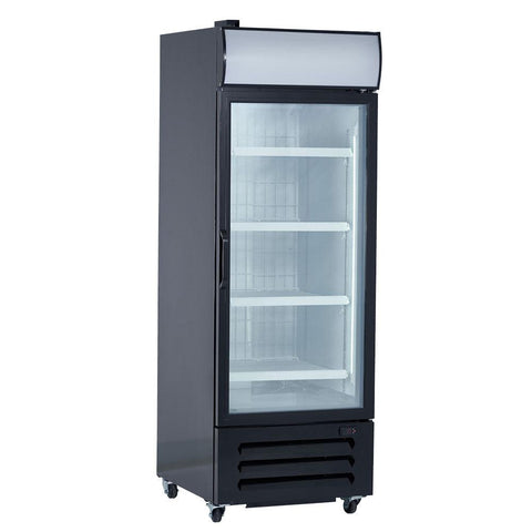 "New Air NGF-054-H 27"" Single Glass Door Merchandising Freezer"
