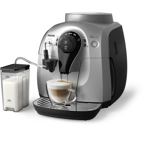 Philips Saeco 2100 Easy Cappuccino Machine - Silver - HD8652/14