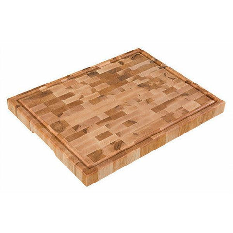 "Planches Labell L14186 14"" x 18"" x 1.5"" Butcher Block"
