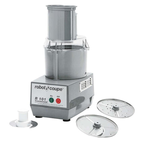 Robot Coupe R101 3/4 hp Combination Processor - 2.5 Qt. Bowl