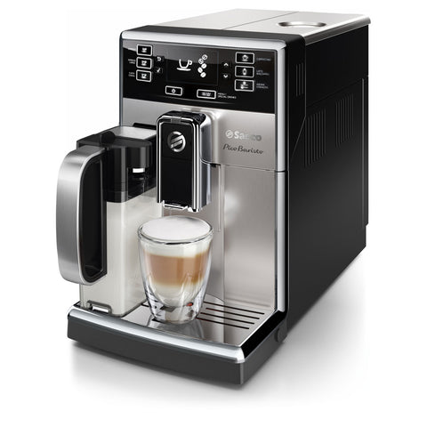 Saeco HD8927/47 Picobaristo Super-Automatic Espresso Machine With Carafe