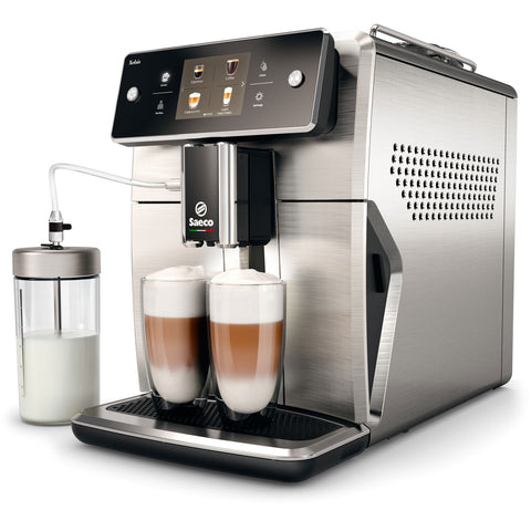Saeco SM7685/04 Xelsis Super-Automatic Espresso Machine - Stainless Steel