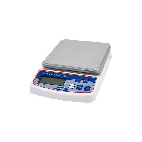 WINCO COMPACT DIGITAL PORTION SCALE - SCAL-D20 - Nella Cutlery Toronto