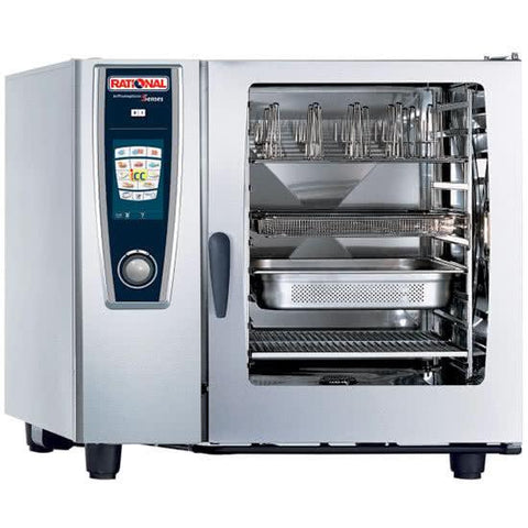 RATIONAL SELFCOOKINGCENTER 5 SENSES COMBI OVEN - MODEL SCC 102G