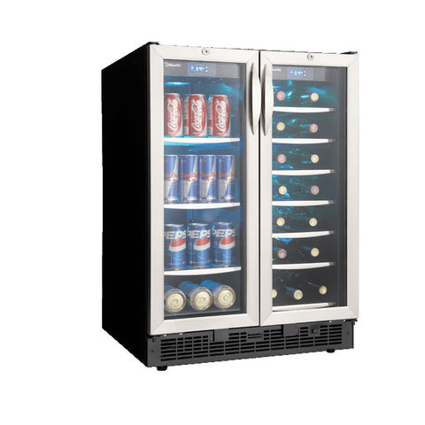 "Silhouette DBC2760BLS Emmental 24"" French Door Beverage Centre"