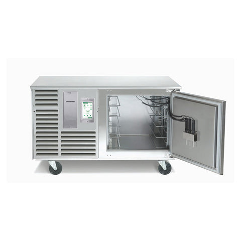"Traulsen TBC5 Spec-Line Undercounter 5-Pan Blast Chiller with 6"" Casters"