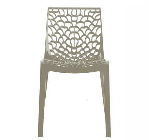 UPON GRUVYER OUTDOOR CHAIR - PEARL GREY