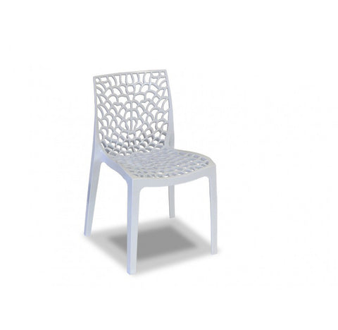 UPON GRUVYER OUTDOOR CHAIR- WHITE