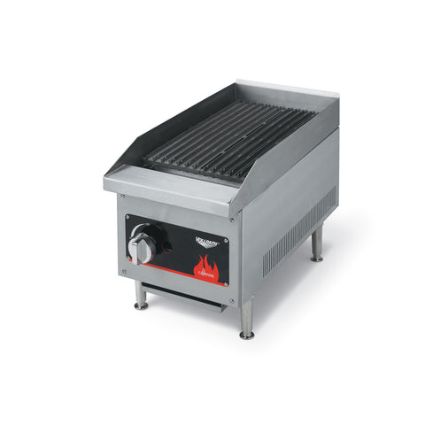 "Vollrath 40728 Cayenne 12"" Natural Gas Radiant Charbroiler - 28,000 BTU"
