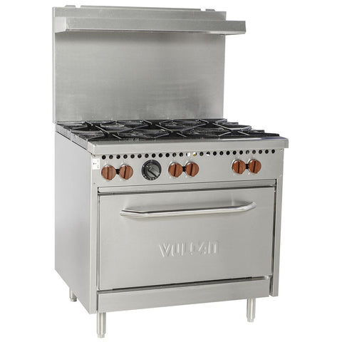 "Vulcan SX36-6B Natural Gas 36"" Sx Series Value Range - 198,000 Btu"