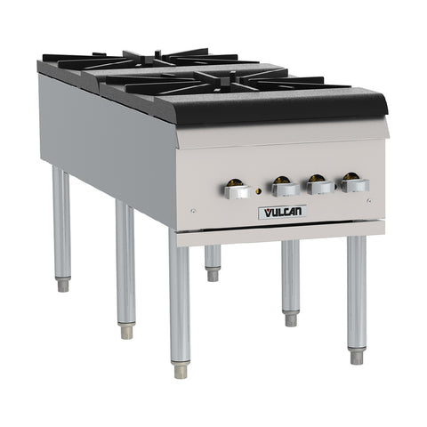 Vulcan VSP200F Natural Gas Two Burner Stock Pot Range