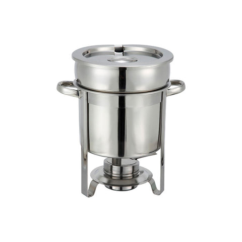 Winco 207 7 Qt. Stainless Steel Soup Warmer