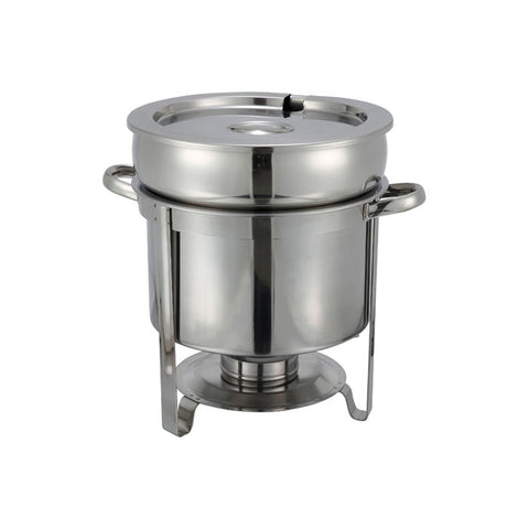 Winco 211 11 Qt. Stainless Steel Soup Warmer