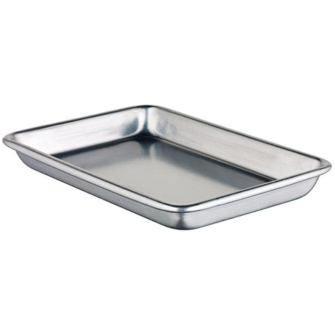 "Winco 6.5"" x 9.5"" Aluminum Sheet Pan - ALXP-0609"