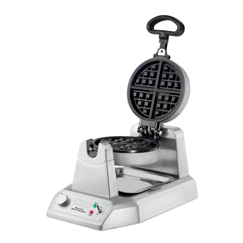 Waring Commercial WW180 Single Classic Belgian Waffle Maker - 1200W
