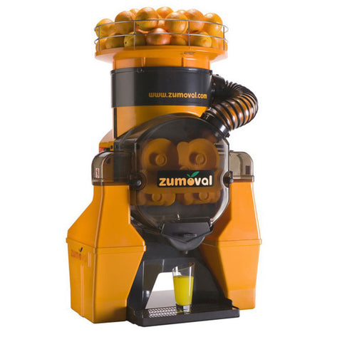 Zumoval FastTop Automatic Citrus Juicer with Juice Level Detector - 45 Fruits/Minute - 40531