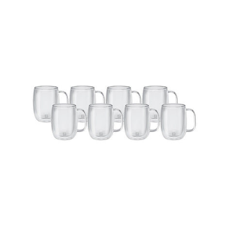 Zwilling J. A. Henckels Sorrento Plus Double Wall Coffee Glass Set - 8pc - 39500-118