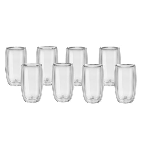 Zwilling J. A. Henckels Sorrento Double Wall Latte Glass Set - 8pc - 39500-121