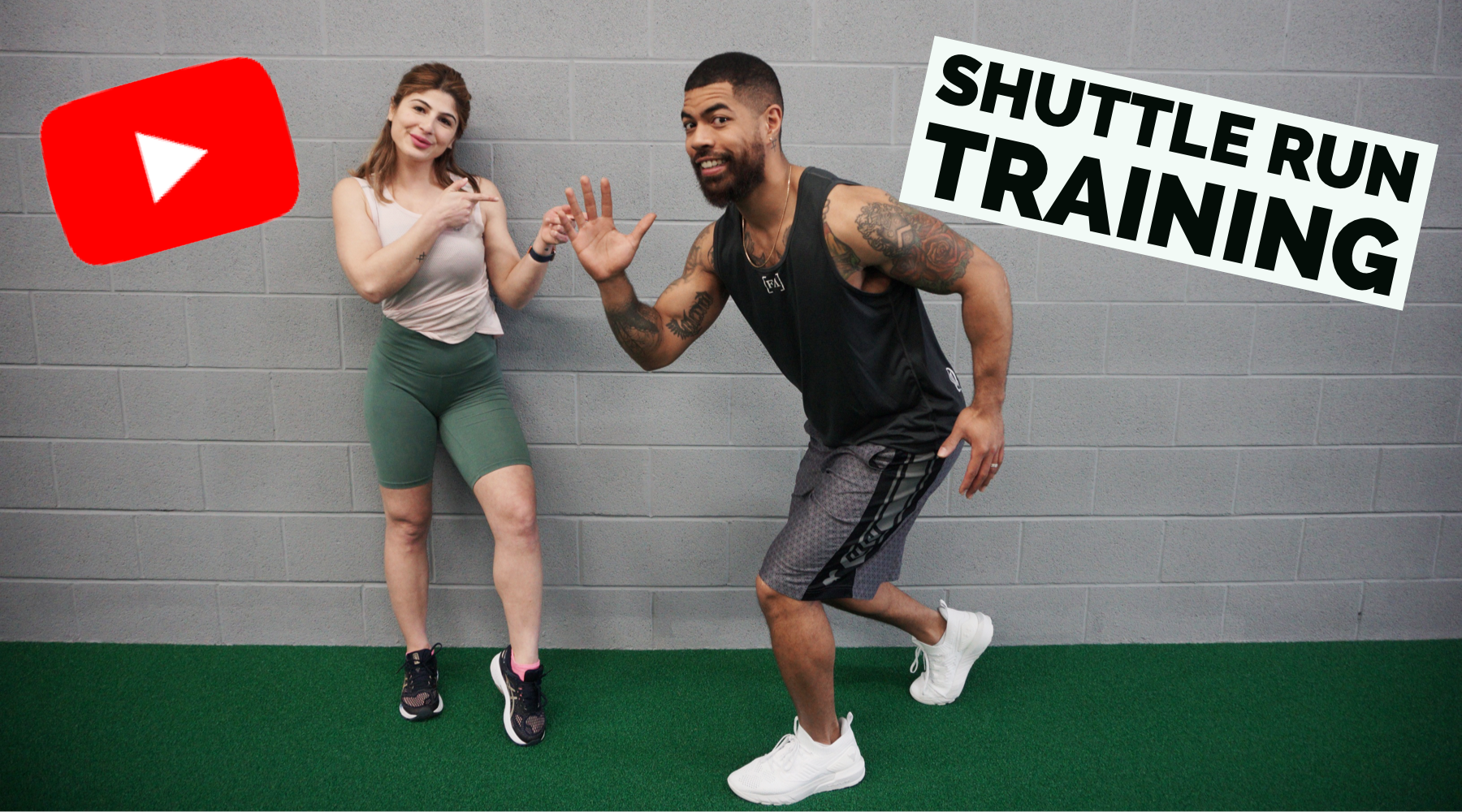 How to train for your shuttle run with Forever Aesthetic | 5 Drills