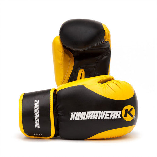 KIMURAWEAR ASPIRE KAIZEN KIDS BOXING GLOVES - 8 OZ