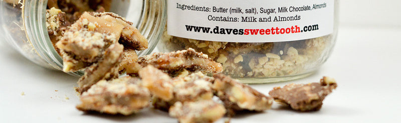 Dave's Sweet Tooth Launches New Website