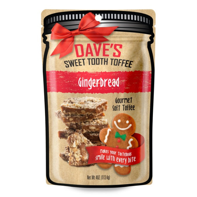 Gingerbread Toffee 4 oz Pouch