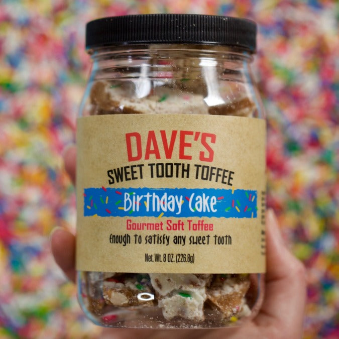 Birthday Cake Toffee