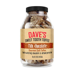 Milk Chocolate Toffee Best Toffee | Dave's Sweet Tooth Toffee