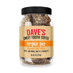 Pumpkin Spice Toffee Best Toffee | Dave's Sweet Tooth Toffee
