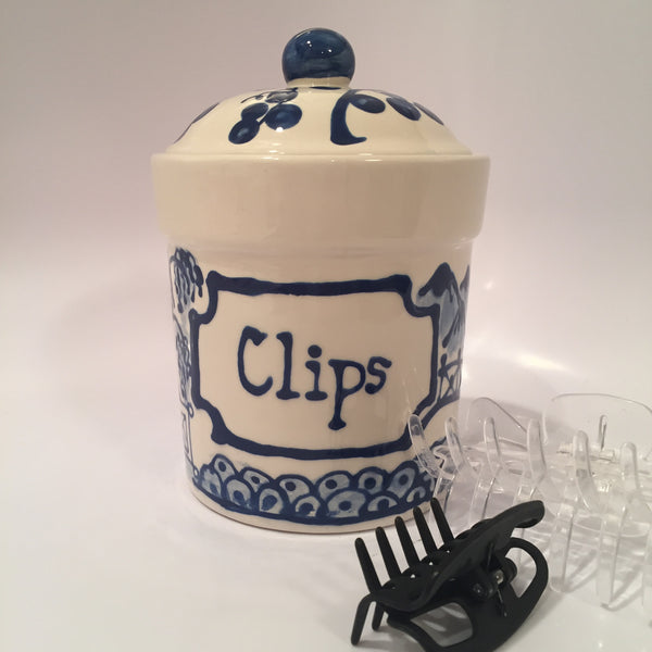 "Small ""Clips"" Canister"