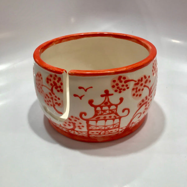 Chinoiserie Yarn Bowl