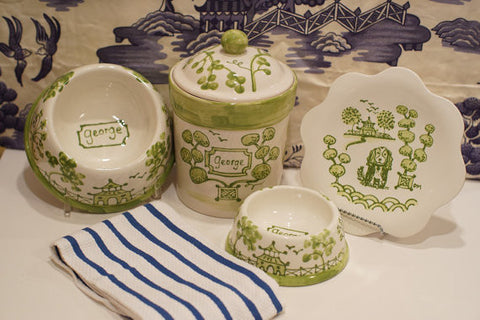 Chinoiserie New Puppy Set