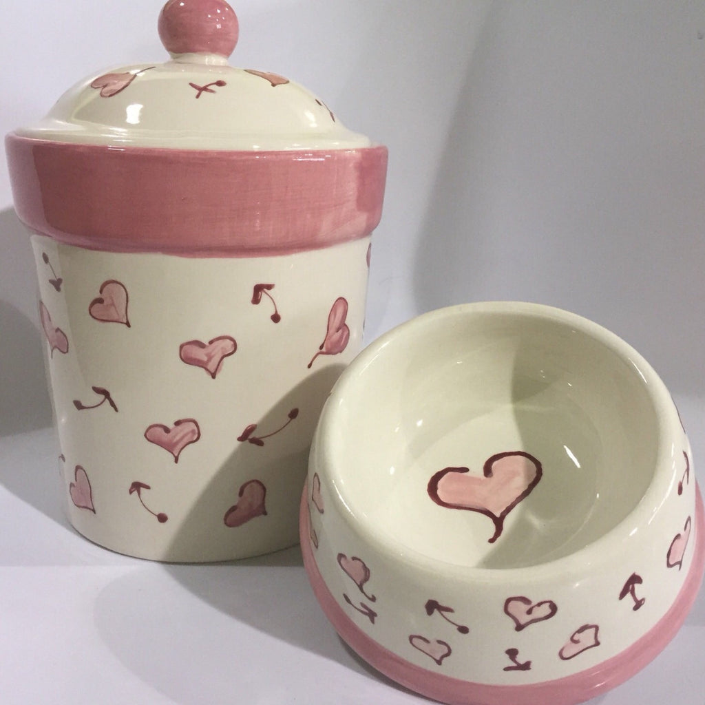 Heart Dog Bowl