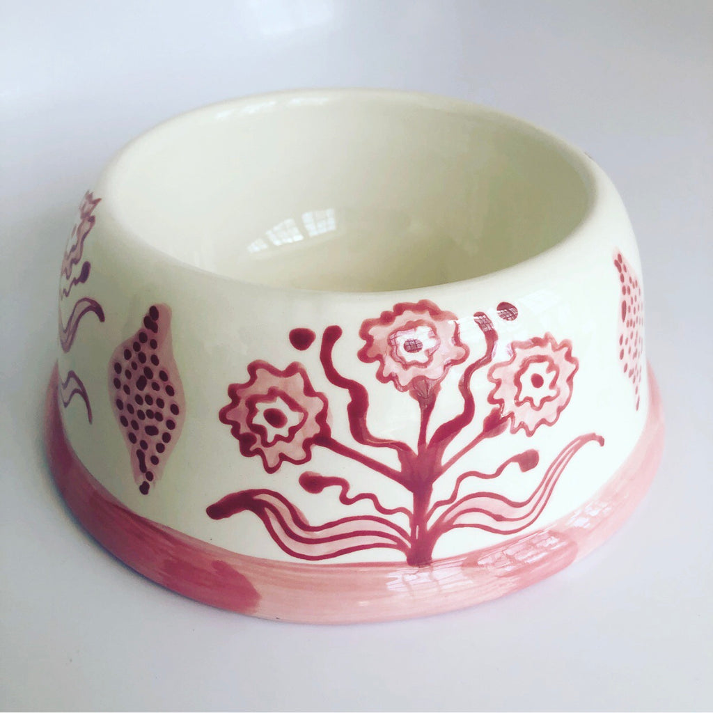 Rose Marigold Collection Dog Bowl