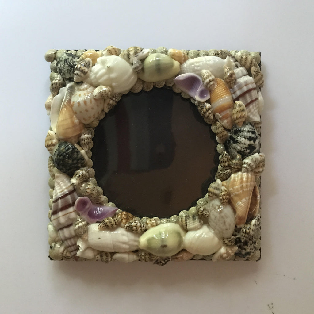 Round Picture Shell Frame