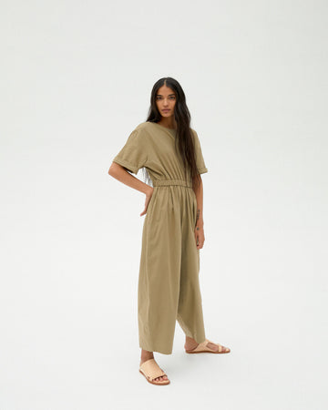 MONICA CORDERA ELMWOOD COTTON JUMPSUIT