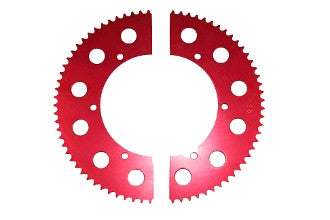 #35 Split Axle Sprockets 53-85 Tooth