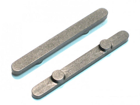 PKT 6x60mm Birel Axle Key 7.5mm Pegs