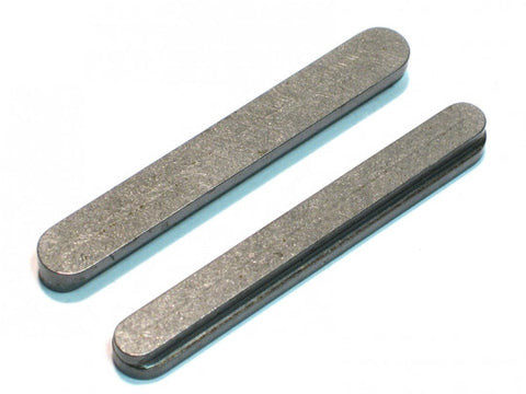 PKT 6/8 x 60mm Step Axle Key