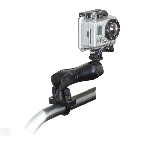 RAM Mount GoPro Hero Adapter w/Rail Mount