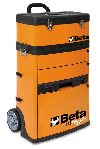 Beta Tools Two-Module Tool Trolley - FREE Shipping